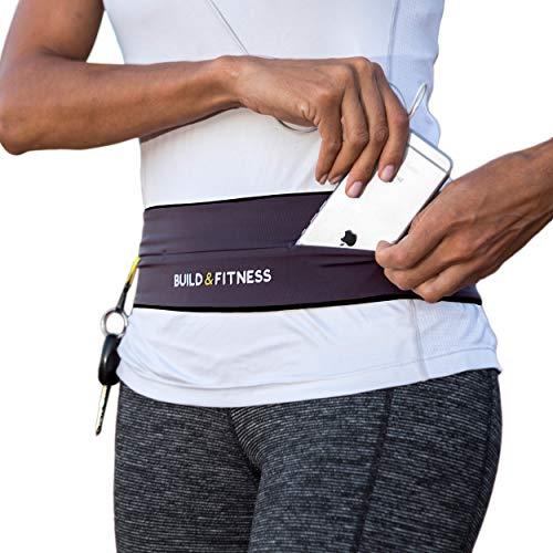 Laufgürtel & Fitnessgürtel, Flipgürtel mit Schlüsselclip, Passend für iPhone 6 & 7 Plus, Unisex, Für Training in Fitness-Club, Übungen, Radfahren