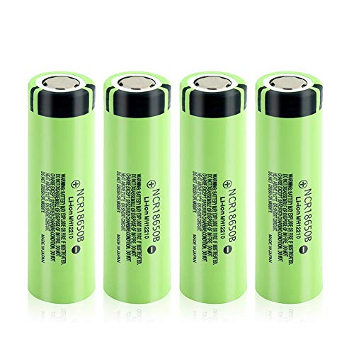 Styleart 3.7 V 18650B Batería Recargable 20A 3400mAh 18650B 18650 Litio Li-Ion Pilas para Antorcha Led 4Pcs