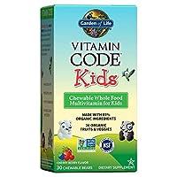 海外直送品 Garden of Life Vitamin Code Kids, 30 chewable Kids