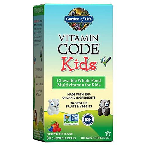Vitamin Code Kids Multivitamin Gels Cherry 30 Chewable Bears