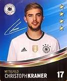 Rewe DFB Cartas coleccionables EM 2016 Selección de todas 36 y álbum colección o alles completo - Nº 17 Christoph Kramer