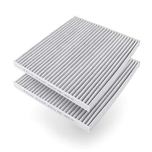 AmazonBasics - Filtro dell'aria per abitacolo, 25,3 x 22.5 x 2 cm, confezione da 2