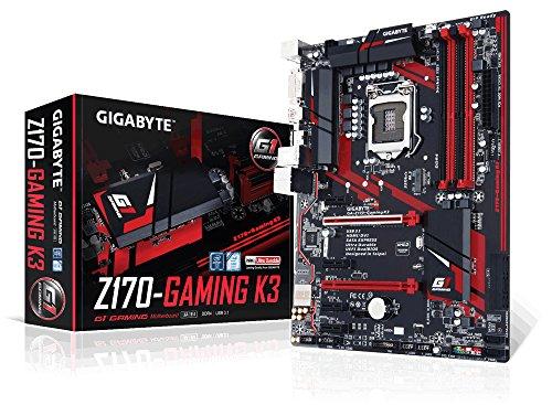Gigabyte Motherboard ATX DDR4 LGA 1151 GA-Z170-GAMING K3