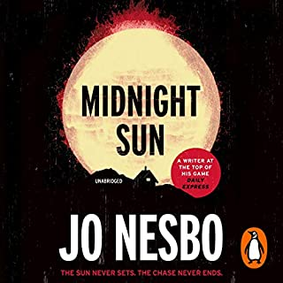 Midnight Sun     Blood on Snow 2              By:                                                                                                                                 Jo Nesbo                               Narrated by:                                                                                                                                 Kim Gordon                      Length: 5 hrs and 55 mins     54 ratings     Overall 3.5