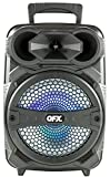 """QFX PBX-81 8"""" Portable Bluetooth Party Speaker with Microphone"""