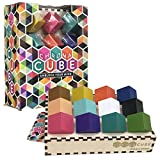 Chroma Cube Logic Game with 25 Puzzles for Adults, IQ Game, Award Winning Brain Teaser