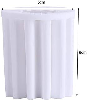 水フィルターコア、水道水シャワーヘッドホワイトフィルター要素、浴室シャワー用インラインシングル