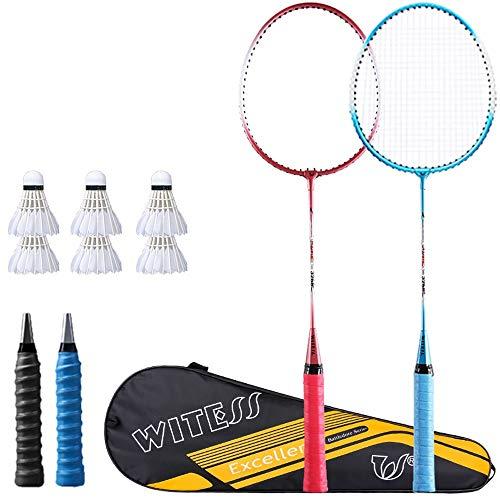Rebily Badminton Vorstand Badmintonschläger Einzel-und Doppel-Schläger Authentisches Männer und Frauen Offensive Durable Kinder Junior High School Students Anzug (Color : B)