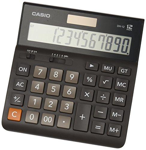 Casio-DH-12BK S-EH Taschenrechner Desktop -