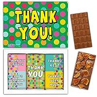 "DA CHOCOLATE お菓子お土産チョコレートセット1箱7.2x5.2 ""3オンス各チョコレート4x2"" (MILK Apricot Peanuts Cowberry)"
