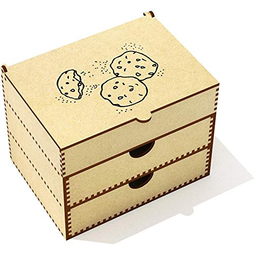 Azeeda 'Biscuits' Boîte de Maquillage (VC00005135)
