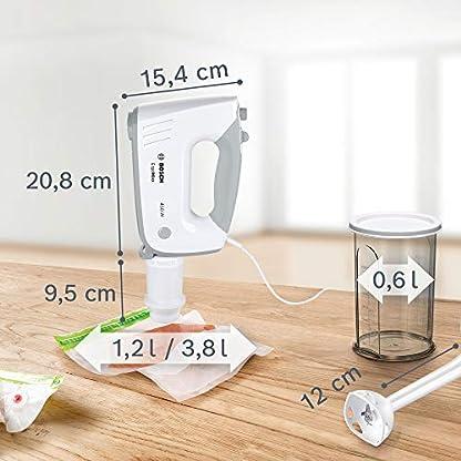 Bosch-MFQ364V0-Handruehrer-Ergomixx-Vakuum-System-450-W-Vakuum-Pumpe-Beutel-und-Boxen-Mixstab-weiss