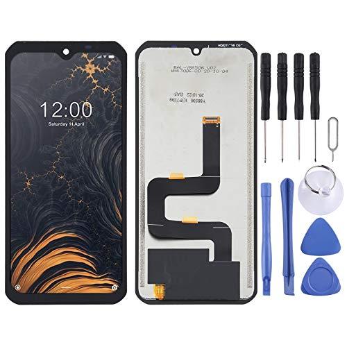 ASAMOAH Pieza de reemplazo del teléfono Celular Pantalla LCD y Montaje Completo de digitalizador para Doogee S88 Pro Accesorios telefonicos
