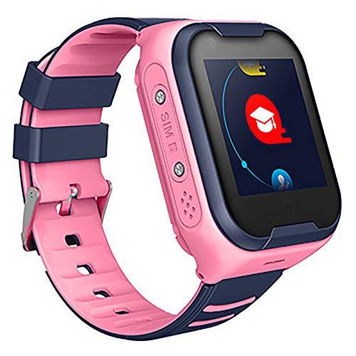 Niños Inteligente Relojes Telefono Estudiante Relojes Smart LBS Tracker Posicionamiento SOS Ranura para Tarjeta De Juego Juego De Reloj Inteligente, Regalo Infantil De 3 A 12 Años