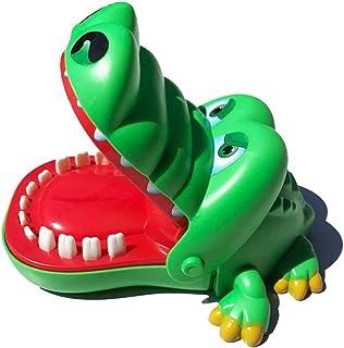 Starspuff Crocodile Teeth Dentist Games Dinosaur Biting Finger Game Funny Toys Kids Game(Green)