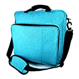 PS4 Pro Carrying Case, Blue PS4 Travel Case for Games, Laptop, Ps4, Ps4 Pro, Ps4 Slim, Ps3, Travel Bag for Ps4 Game Accessories Controller Storage