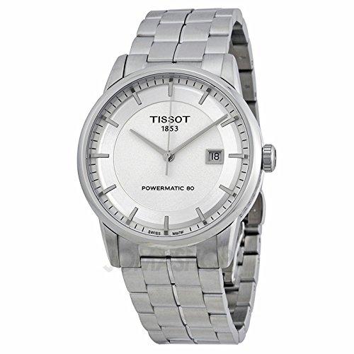 Tissot Tissot lusso Automatico Argento Quadrante Mens Orologio T0864071103100