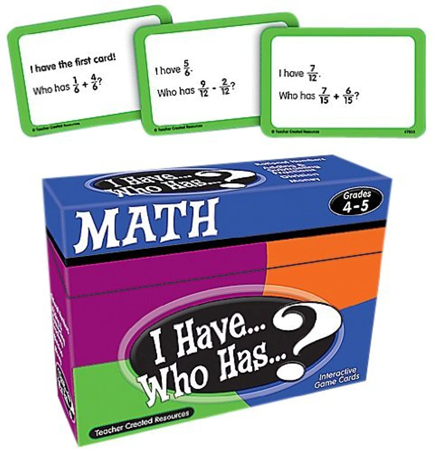 Teacher Created Resources I Have... Who Has...? Math 4-5 (7833) [並行輸入品]