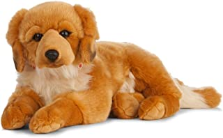 Living Nature Soft Toy - Giant Plush Golden Retriever Dog (60cm)