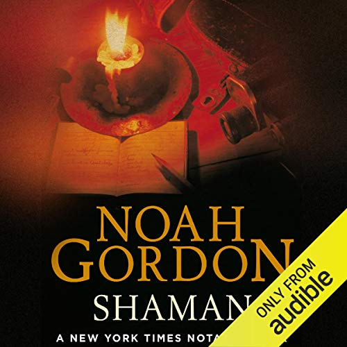 Shaman audiobook cover art