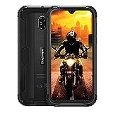 blackview bv5900 rugged smartphone (2020), ip68 impermeabile 4g lte android 9.0 dual sim cellulare militare hd+ da 5,7 pollici, 3gb + 32gb, 13mp+0.3mp+5mp, 5580mah, modalità fotocamera subacquea, nfc