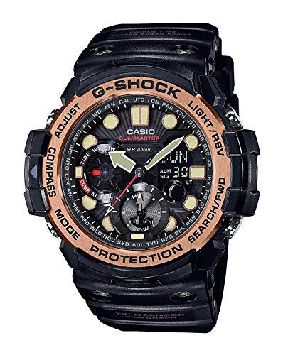 CASIO G-Shock G- Shock Gulfmaster Gulf Master Series Gn-1000Rg-1A Black Overseas Model Watch