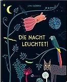 Die Nacht leuchtet!: Bilderbuch über die Phänomene der Nacht für Kinder ab 4 Jahren, Cover leuchtet im Dunkeln