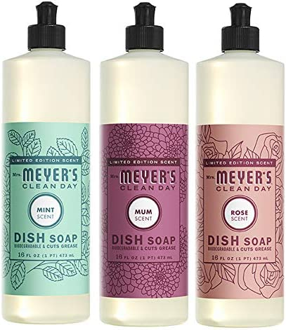 Limited price Liquid Recommended Dish Soap Cruelty Free Mum Formula 1 Pack Mint