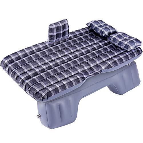 Matelas de voyage Air Bed Inflatable plus épais, banquette arrière, SUV, canapé à air prolongé avec deux coussins d'air