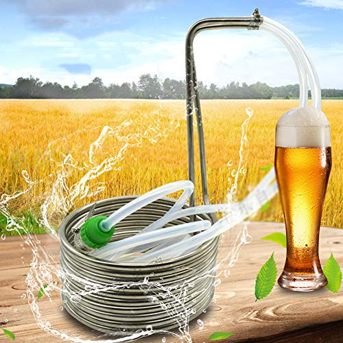 NanXi Refrigeradores Spice, Cerveza de refrigeración de la Bobina, Cerveza de Acero Inoxidable serpentín de enfriamiento, la Bobina de refrigeración por Agua para la producción,Plata