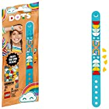 LEGO DOTS Rainbow Bracelet 41900 DIY Craft Bracelet Making Kit; A Fun Craft kit for Kids who Like Making Creative Jewelry, That Also Makes a Cool Holiday or Birthday Gift Toy, New 2020 (33 Pieces)