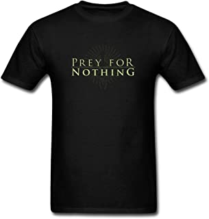 ShiDan Men's Prey For Nothing Progressive Melodic Logo T-Shirts