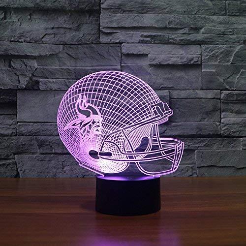 Minnesota Vikings Tischlampe NEON 3d Neonschild LED Neu Schild NFL USA