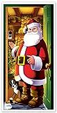 Beistle 20012 Santa Door Cover, 30' x 5'