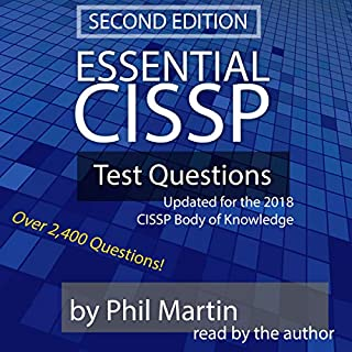 Essential CISSP Test Questions audiobook cover art