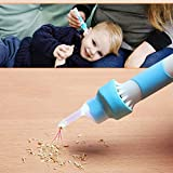 Ear Syringes Electric Ear Cleaner, Ear Wax Removal Kit Tool with LED Lights Soft Ear-Pick Earwax Removal Tools for Adults and Children