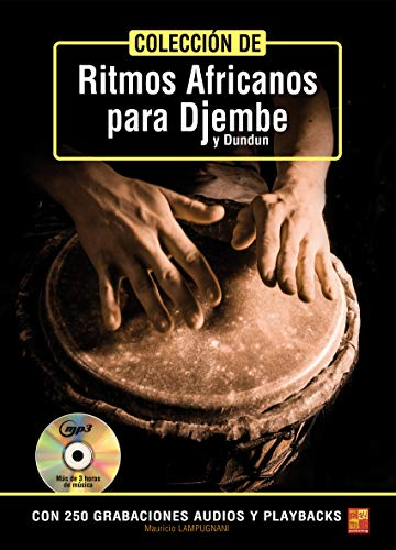 Colección de ritmos africanos para djembe y dundun (1 Libro + 1...