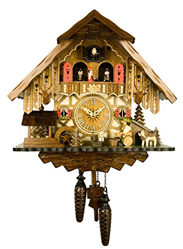 Engstler Quartz Cuckoo Clock - The Jolly Beer Drinker