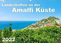 Landschaften an der Amalfi Kueste (Wandkalender 2022 DIN A2 quer): Malerische Doerfer und bezaubernde Ausblicke auf die Amalfikueste, Italien. (Monatskalender, 14 Seiten )