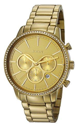 Joop! Damen-Armbanduhr JACKIE Chronograph Quarz Edelstahl JP101712004