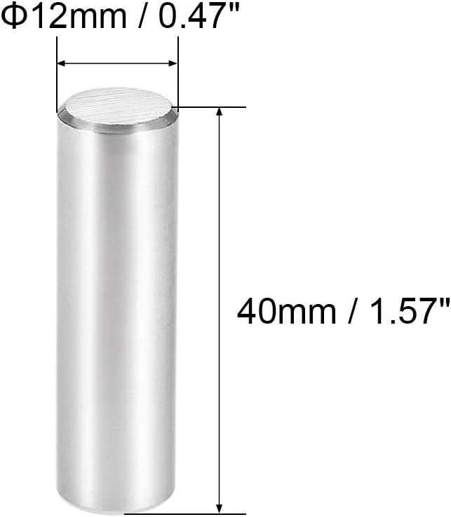 SOURCING MAP 5 mm x 15 mm de Metal soporte de estante prod.no plata 50 piezas