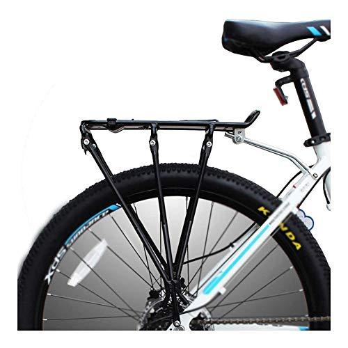 Sale!! LYYJIAJU Bicycle Rear Rack Adjustable Aluminum Alloy Bike Rack with Reflector