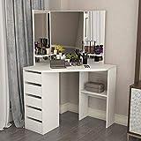 TITISKIN Corner Vanity Makeup Desk...