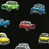 Fat Quarter Magic Minis Mini Auto Baumwolle Quilting Stoff