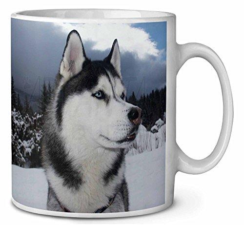 Husky-Hund Kaffeetasse Geburtstag/Weihnachtsgeschenk