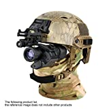 DOTXX 2X28 Monocular Night Vision Goggle, High Power Helmet Glasses HD, Suitable for Night Vision Hunting,with Helmets Mount Bracket