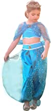 Trish Scully Genie Costume Blue