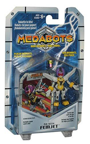 Hasbro Medabots Femjet (2001) Action Figure PLN-161214 w/ Game Card & Die