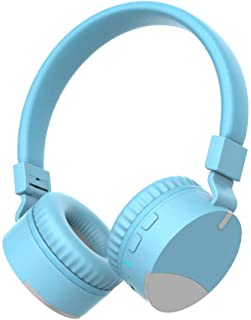 $43 » Lavendervob Foldable wireless Bluetooth headset,charging, long-lasting battery life,retractable folding memory foam,specially designed for children,comfortable and breathable (Color : Blue)