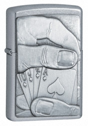 Zippo Royal Flush Surprise - Mechero oculto